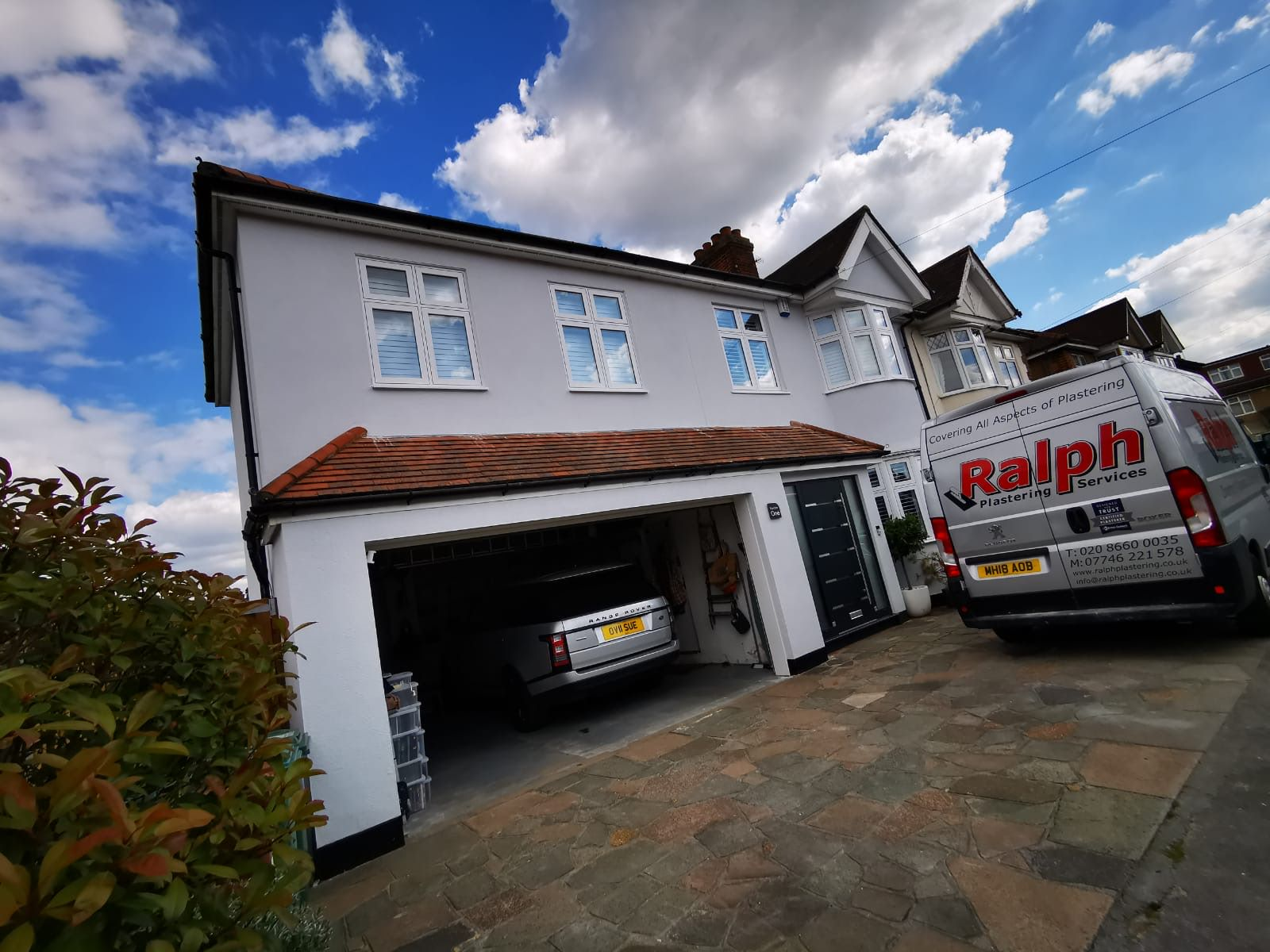 Rendering South London and Surrey - Services - Ralph Plastering