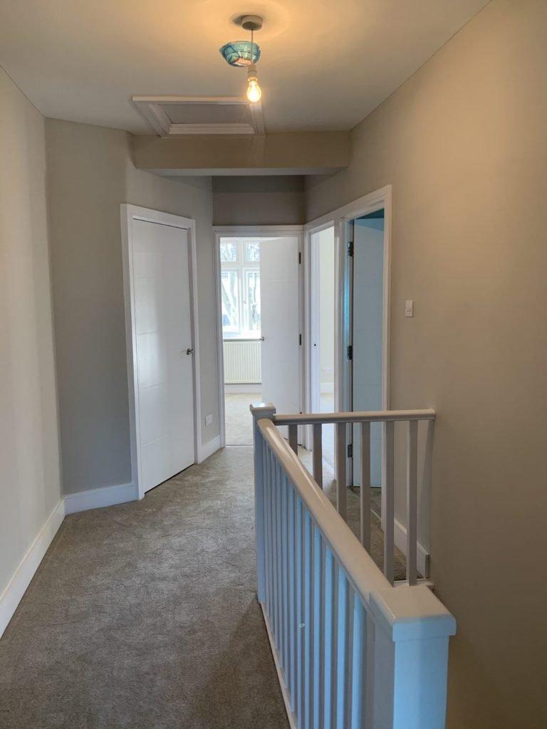 Hallway Plastered