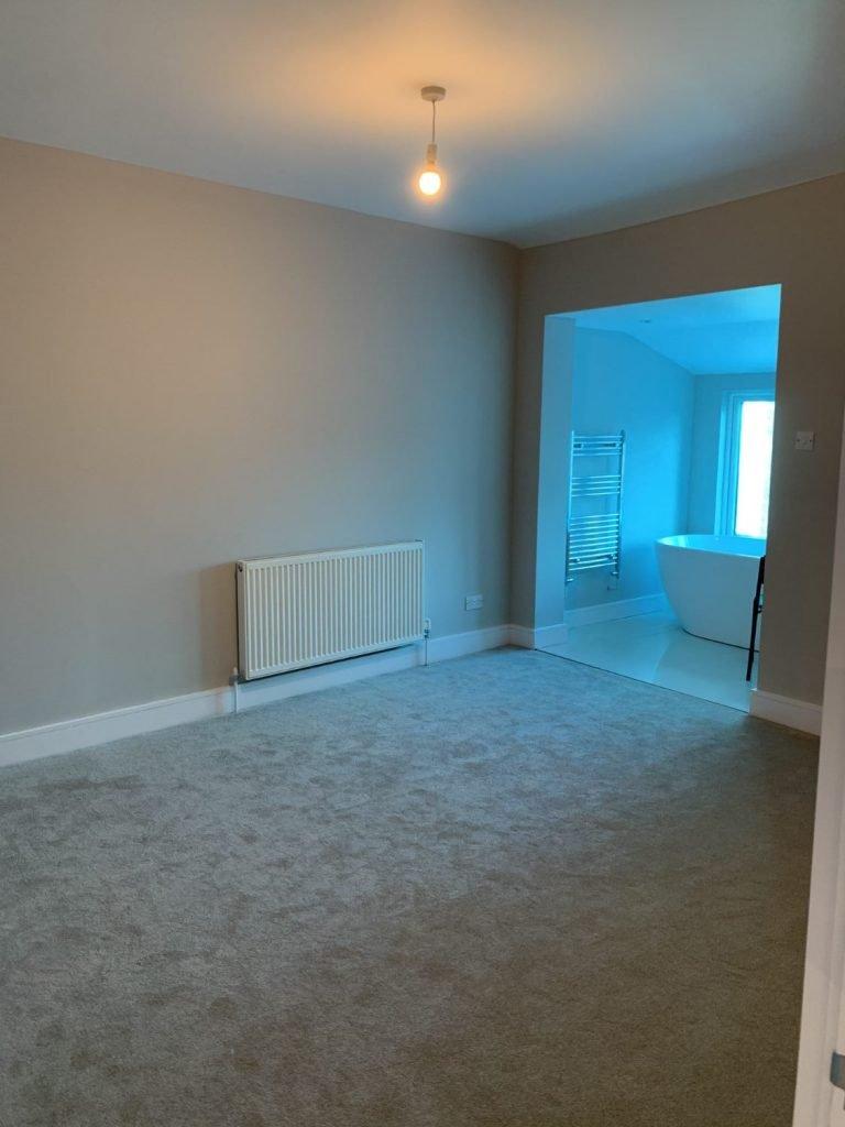 Bedroom Plastering