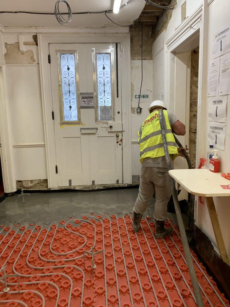 Underfloor Heating By Ralph Plastering