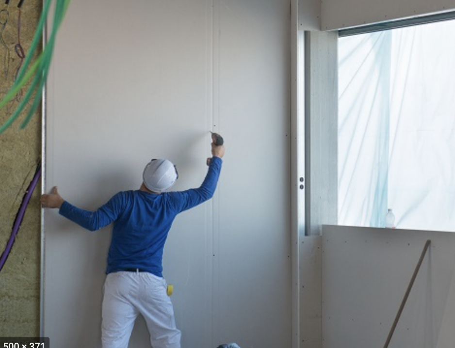 using gypsum for dry lining walls
