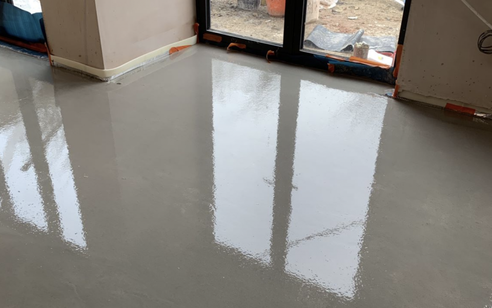 Floor Screeding Kingston Upon Thames - Ralph Plastering